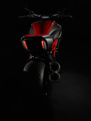 2011 Ducati Diavel Rear View