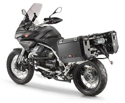 2011 Moto Guzzi Stelvio 1200 Rear Side View