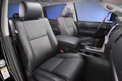 2011 Toyota Tundra Front Seats