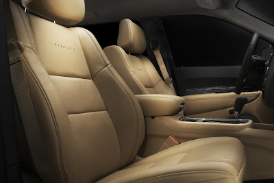 2011 Dodge Durango Front Seats