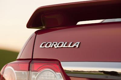 2011 Toyota Corolla Badge View