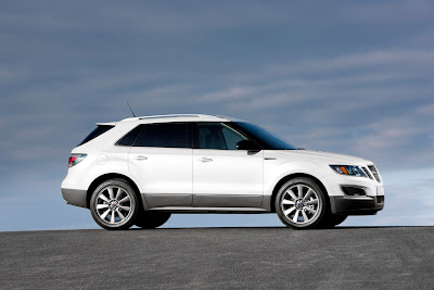 2012 Saab 9-4X Side View