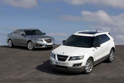2012 Saab 9-4X at 2010 LA Auto Show
