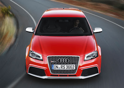 2012 Audi RS 3 Sportback Front Top View
