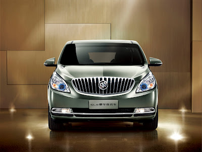 2011 Buick GL8 Front View
