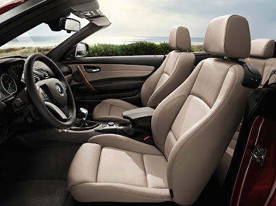 2012 BMW 1 Series Convertible Front Seats