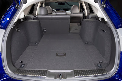 2011 Acura TSX Sport Wagon Cargo Area Place