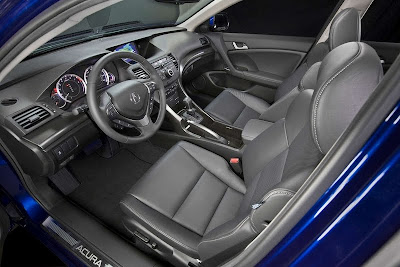 2011 Acura TSX Sport Wagon Front Seats