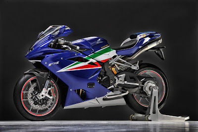 2011 MV Agusta F4 Frecce Tricolor Official Photos
