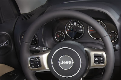 2011 Jeep Compass Steering Wheel