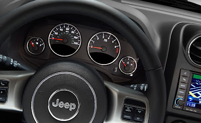 2011 Jeep Compass Gauges View