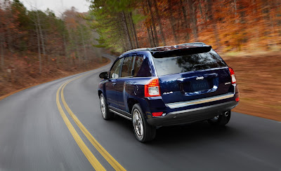 2011 Jeep Compass Rear Angle View