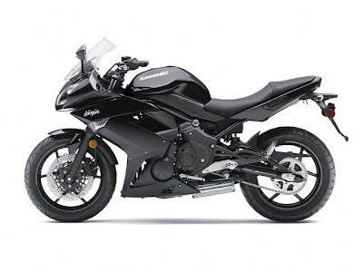 2011 Kawasaki Ninja 650R Black Color