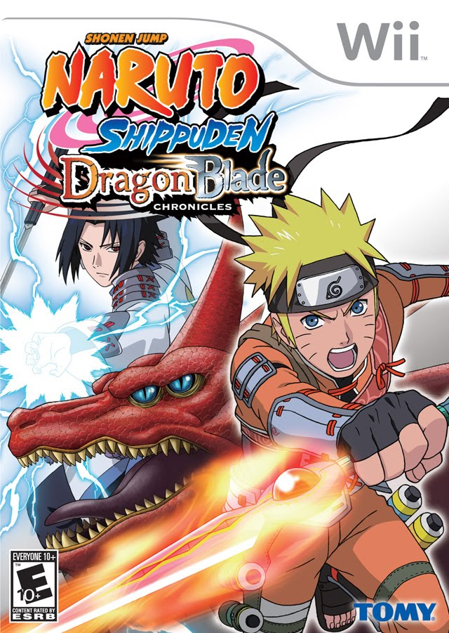 Naruto Shippuden Dragon Blade Chronicles Game Cover