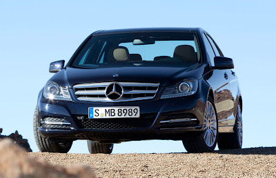 2012 Mercedes-Benz C-Class Front Angle View