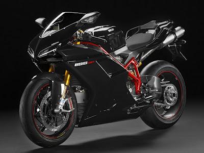 2011 Ducati 1198SP Black Color