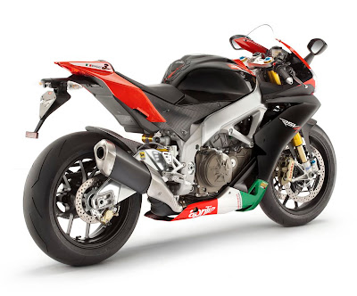 2011 Aprilia RSV4 Factory APRC SE Rear Side View