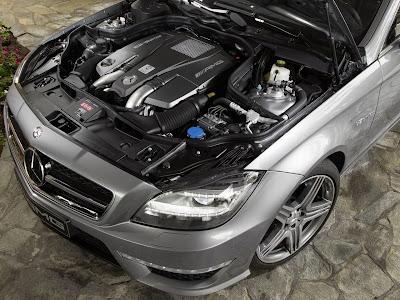 2012 Mercedes-Benz CLS63 AMG Engine
