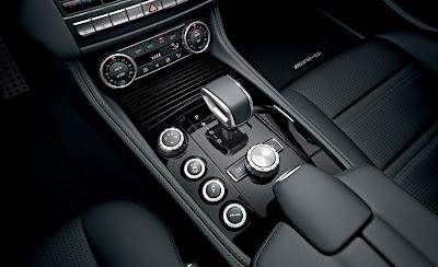 2012 Mercedes-Benz CLS63 AMG Shifter
