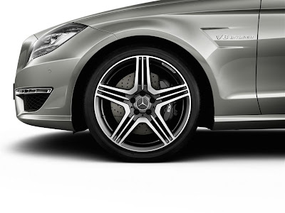 2012 Mercedes-Benz CLS63 AMG Wheel