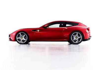2012 Ferrari FF Side View