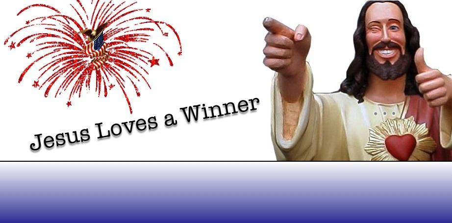 Jesus Loves A Winner