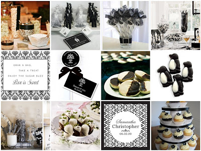 Black and white what a modern sleek and stylish color combination