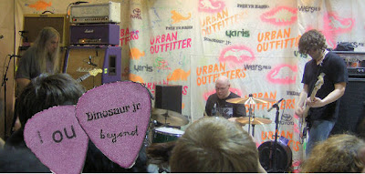 Dinosaur Jr -- Live at Urban Outfitters, Cambridge, Massachusetts
