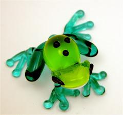 Totem Frog says HI