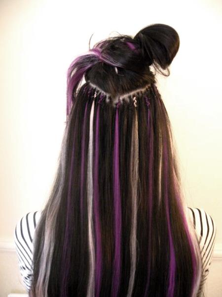 Extra Long Black Hair Extensions 28