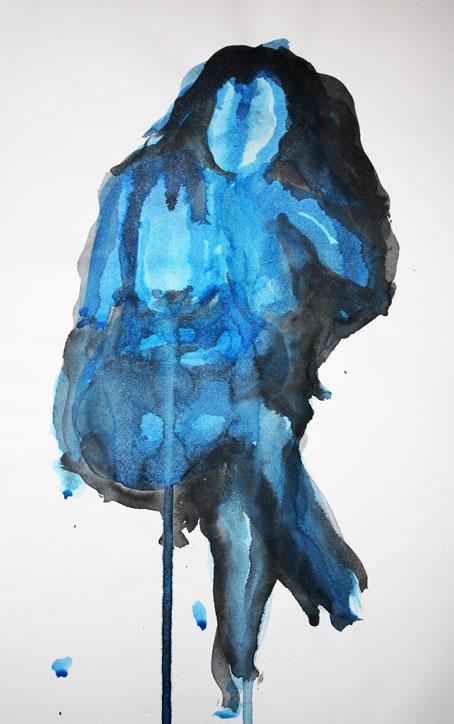 Abstract Life Drawing Ink Abstract Life Drawing
