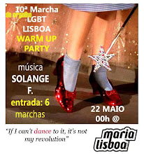 22 MAIO - WARM UP PARTY - MARIA LISBOA