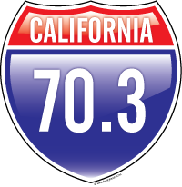 California 70.3 t-shirt design