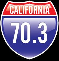 California 70.3 t-shirt design
