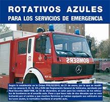 Rotativos azules - Artículo de la revista Emergencia 112