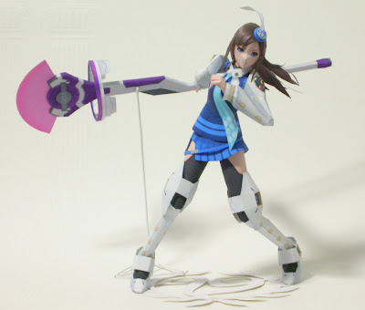 Anime  Papercraft - Phantasy Star Portable 2 Lumia Waber