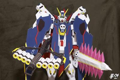 Gundam Papercraft - Crossbone