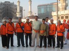 suasana di lt 3 masjidil haram bersama ketua KBIH