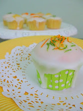 Triple Citrus Cupcakes