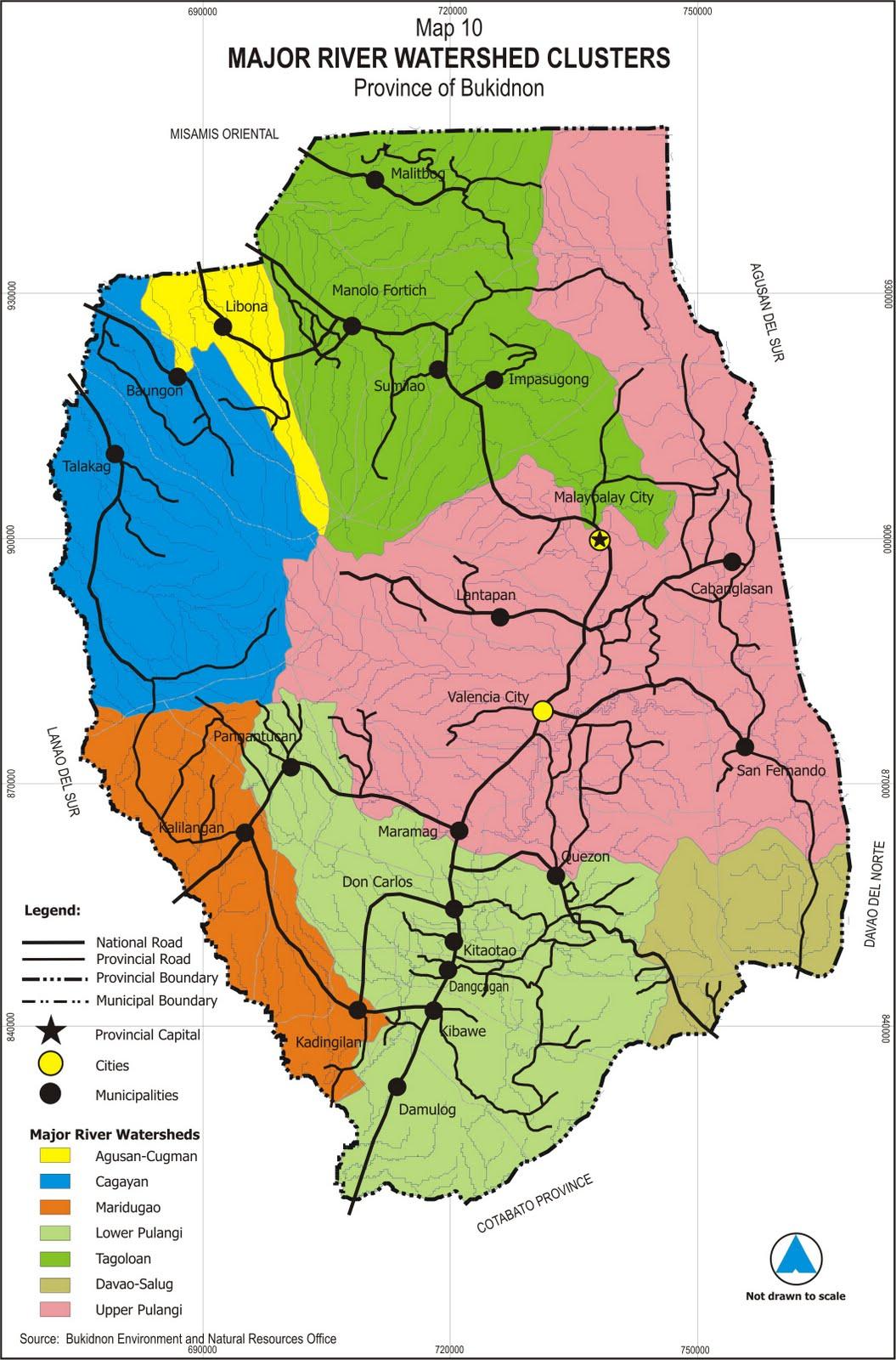 Nature Scape Bukidnon Map