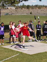 Tanner throwing discus