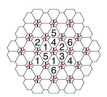 puzzle hexagono