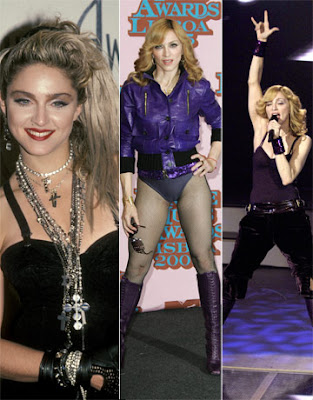 Madonna the famous pop giant singer