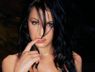 Sexy poker model tina Wallman