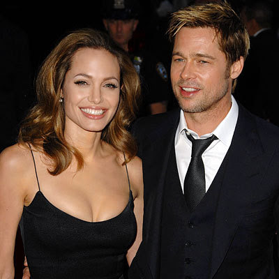 brad pitt and angelina jolie. rad pitt and angelina jolie