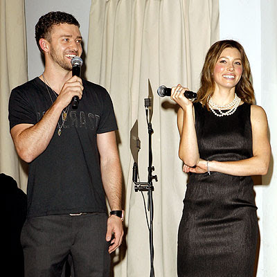 Justin Timberlake and Jessica Biel | Poker Event