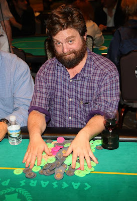 Zach Galifianakis at The Hangover Poker Tournament