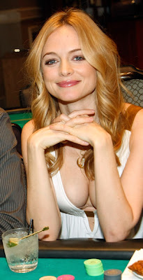 Heather Graham at The Hangover Poker Tournament