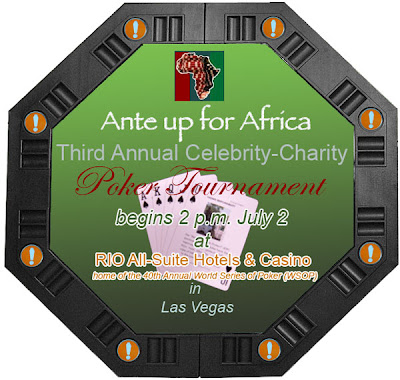 The 3rd Annual Ante Up For Africa 2009  Poker