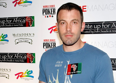 3rd Ante up For Africa  Poker  Ben Affleck